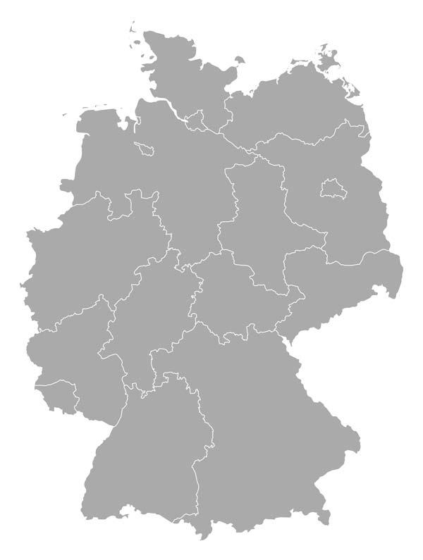 ZAB Standorte Deutschland