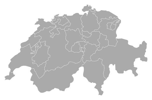 ZAB Standorte Schweiz